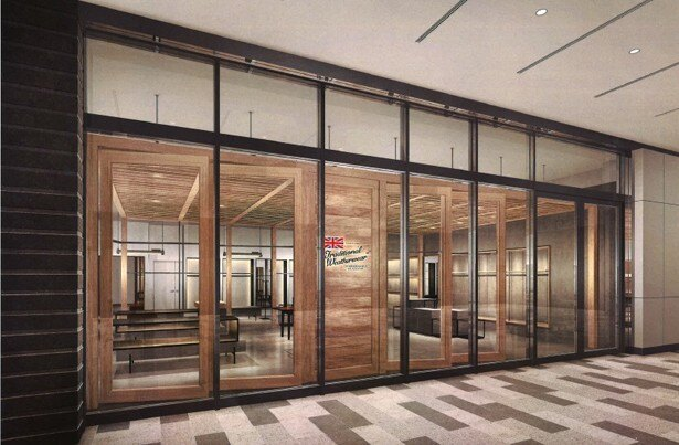 東海エリア初出店となる英国ブランド「トラディショナル ウェザーウェア」は2017年9月1日(金)にオープン