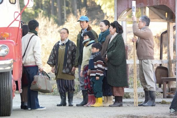 みね子(有村架純)や三男(泉澤祐希)らが奥茨城を離れるシーンは号泣する視聴者も!