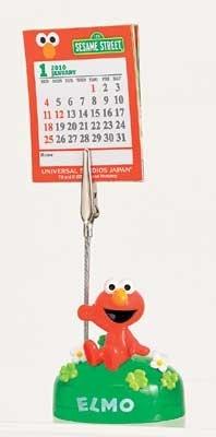 メモクリップとしても使えるエルモの「カレンダークリップ」(1200円)