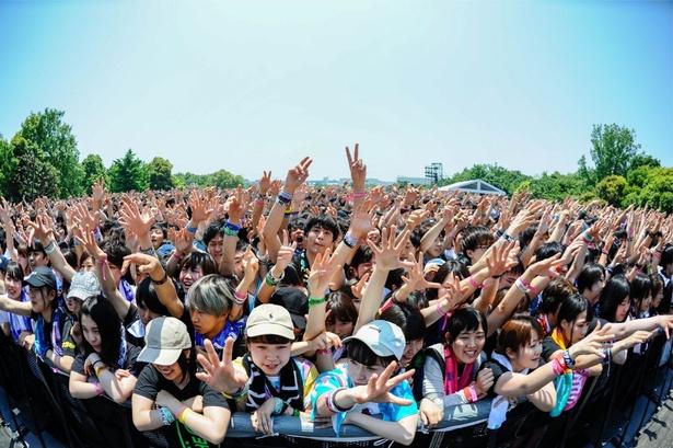 【写真を見る】キーボード・村上信五はさすがの「盛り上げ力」で観客の心を一つに