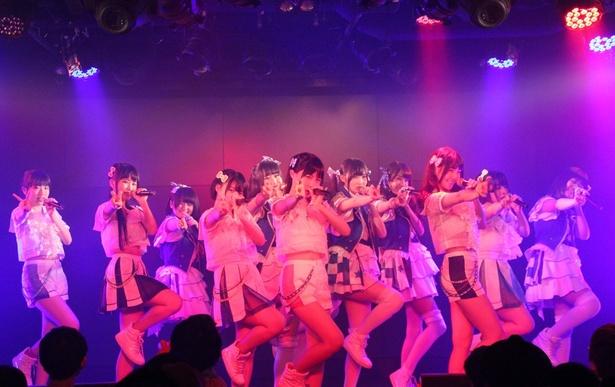 虹のコンキスタドール赤組、サジタリアス流星群(虹のコンキスタドール青組)、ベボガ!(虹のコンキスタドール黄組)が「ASCII アイドル倶楽部 定期公演 Vol.1」に出演