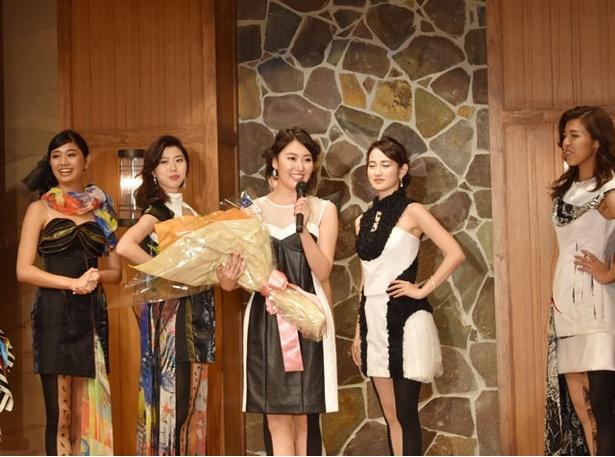 会場の投票による「ミス・スマイル賞」は、山下夏希さん(21)が受賞