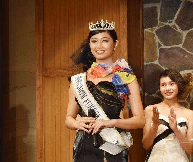 グランプリに輝いたのは、福岡県出身の斎藤恭代さん(21)