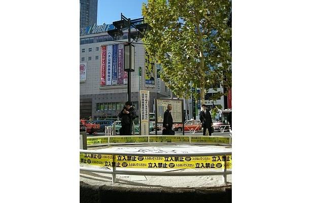 渋谷駅のシンボルが盗難被害に!