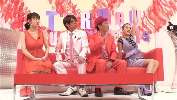 永野以外にも佐藤美希(写真左)も登場