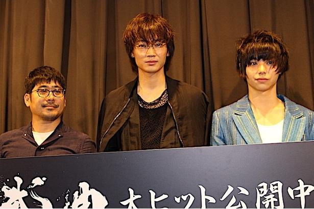 『武曲 MUKOKU』の初日舞台挨拶が開催された