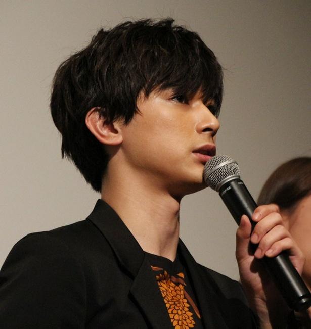 ついに公開初日を迎え、吉沢は「とてもドキドキしております」