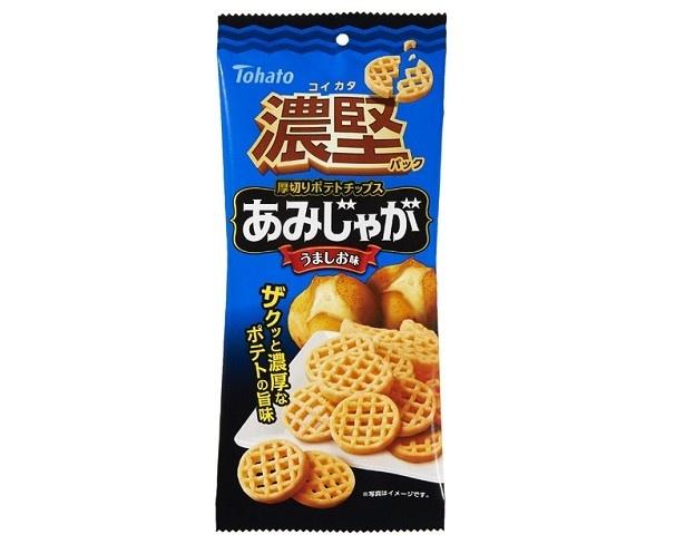 「濃堅パック あみじゃが・うましお味」(参考小売価格税別100円)