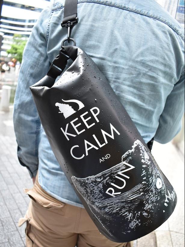 ゴジラ・ストア限定の「ゴジラ防水バッグ」