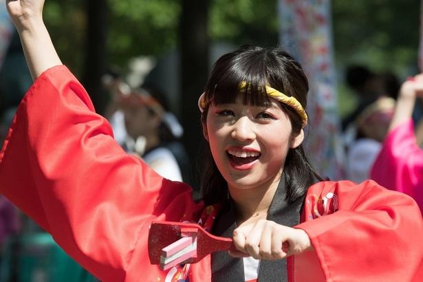 「ぜひ、道内だけでなく全国からこの熱い乱舞を感じに集まって欲しいです!日本といえばお祭りじゃ~~!」(仙石みなみ)