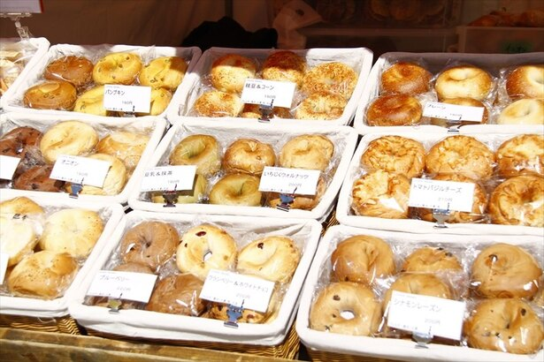 個性豊かなパンが集結!