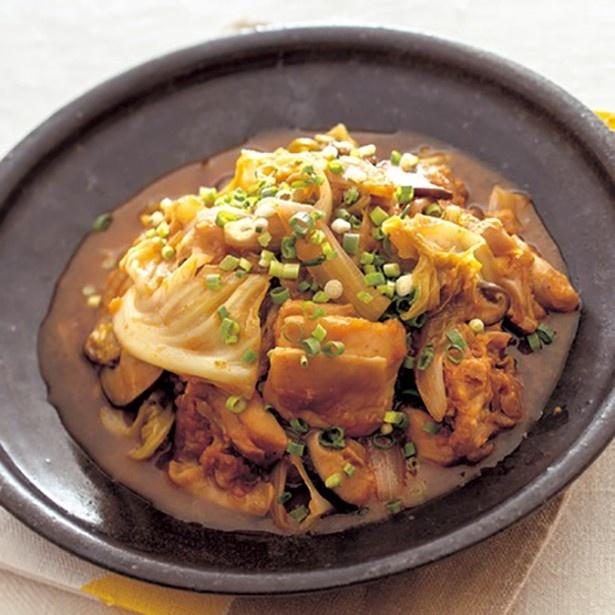 【関連レシピ】肉のうまみを野菜に吸わせて「キャベツたっぷりタッカルビ」