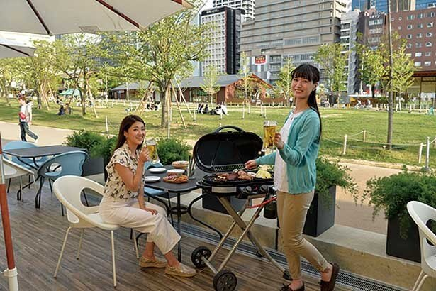 大阪・天王寺にある「てんしば」でBBQや食べ放題ビュッフェが堪能できるビアガーデンが登場!