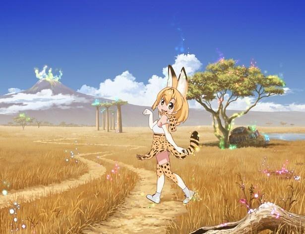 6月2日はアニメ部門2位、3日は3位、そして4日は1位と、連日にわたって視聴熱ランキングを席巻中の「けものフレンズ」