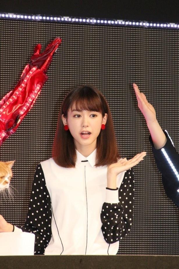 ドラマ「人は見た目が100パーセント」で主演を務める桐谷美玲