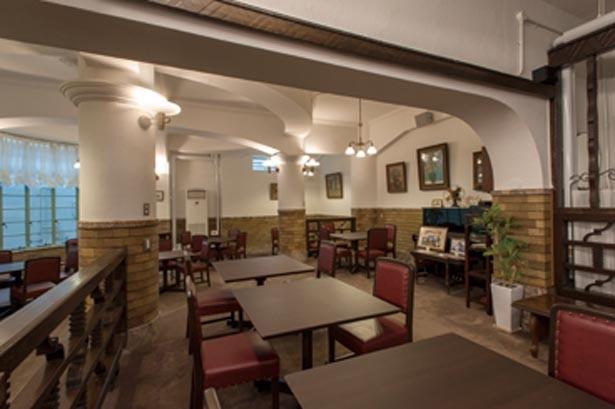 和レトロな雰囲気はそのままに、公会堂の改修に伴い店内もリニューアル/御影公会堂食堂