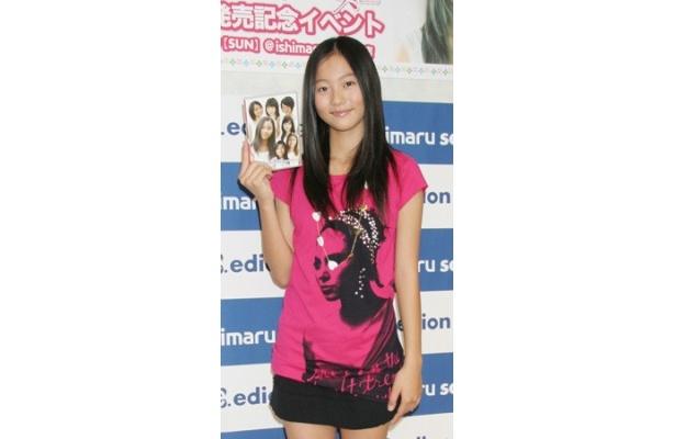 「第12回全日本国民的美少女コンテスト」でグランプリ&モデル部門賞を受賞した工藤綾乃