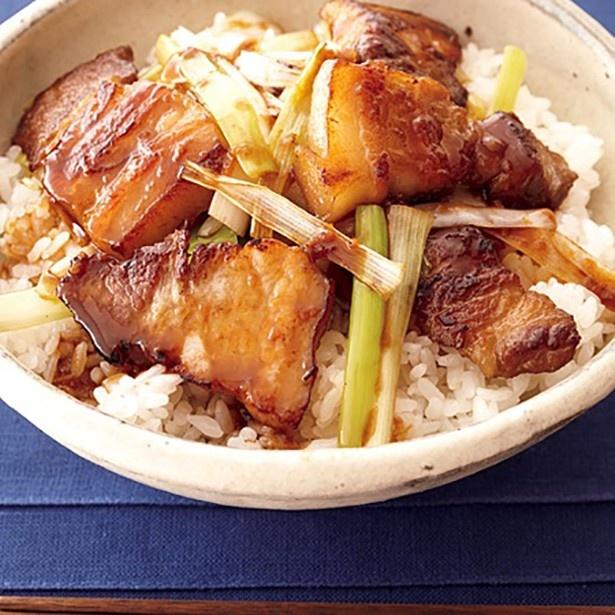 【関連レシピ】こうばしい香りが食欲をそそる「ねぎみそあぶりチャーシュー丼」