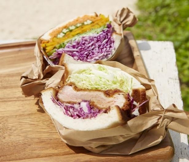 話題の「萌え断」サンドイッチ