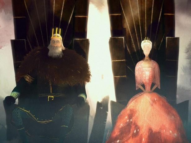 怪物が語る「黒の王妃と若き王子」の物語
