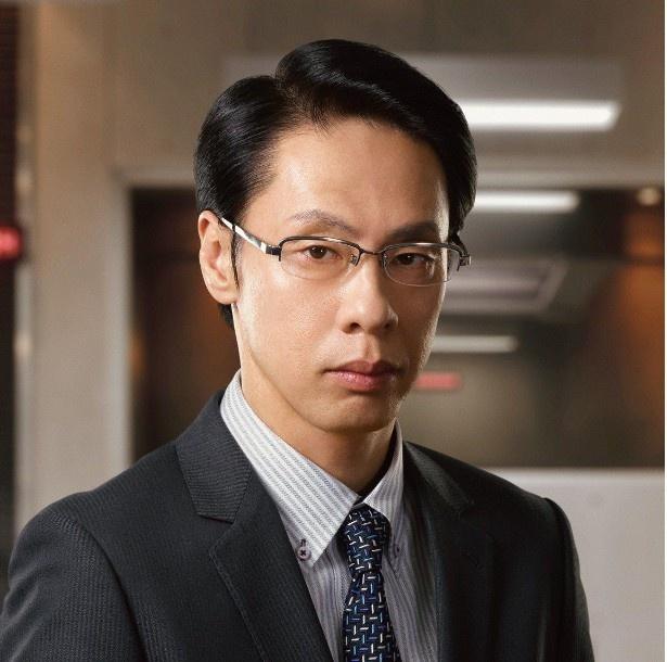 「緊急取調室」で磐城和久を演じる大倉孝二