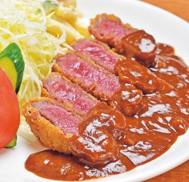 「牛ヒレビフカツ」(1300円)/洋食の藤