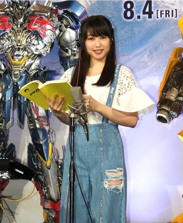 今回が声優初挑戦の桜井日奈子