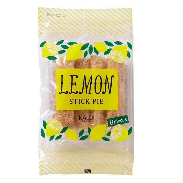 オリジナルのレモンスティックパイ