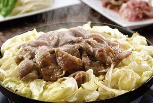 ちょっと贅沢な牛肉カルビ&生ラムジンギスカンがオススメ