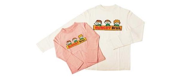 ポップなカラーで人気のブランド「ランドリー」のTシャツは、ファミリーで着てもよし