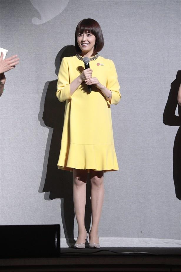 スペシャルゲストとして登場した小林麻耶さん