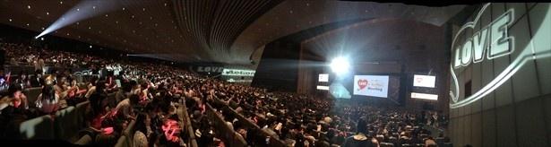 【写真を見る】東京国際フォーラムに4602人の観客が集まった