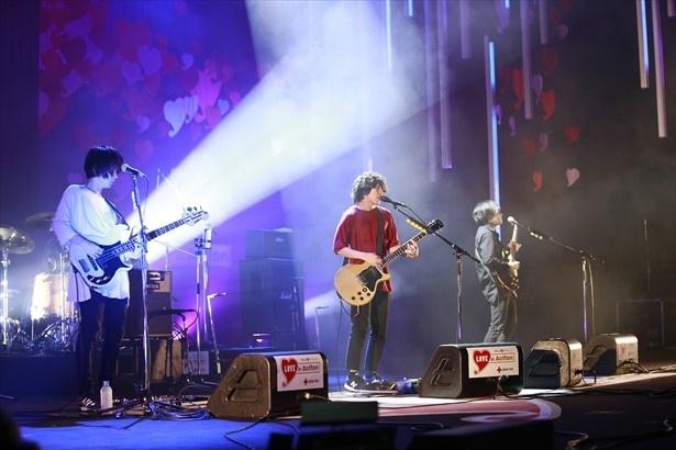 平成29年「はたちの献血」キャンペーンソングを初披露したKANA-BOON