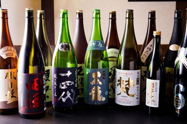 日本酒が原価で楽しめる
