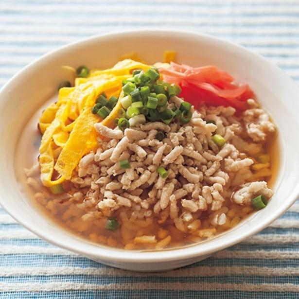 【関連レシピ】暑い時でもさらさらと食べられる「冷やし鶏飯」