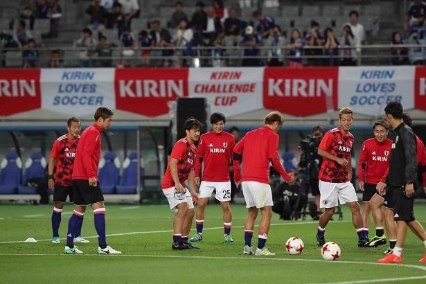 サッカー日本代表、世界への道!キリンチャレンジカップ2017 「日本代表×シリア代表」2/22