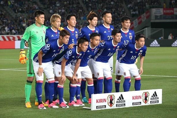 サッカー日本代表、世界への道!キリンチャレンジカップ2017 「日本代表×シリア代表」7/22