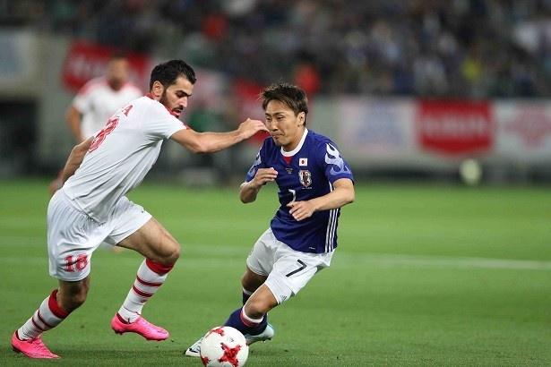 サッカー日本代表、世界への道!キリンチャレンジカップ2017 「日本代表×シリア代表」9/22