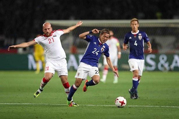 サッカー日本代表、世界への道!キリンチャレンジカップ2017 「日本代表×シリア代表」16/22