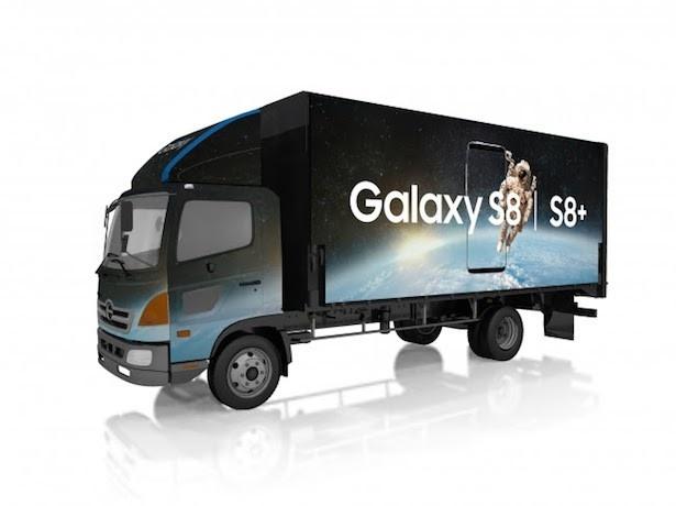 Galaxyオリジナルのキャラバンカー