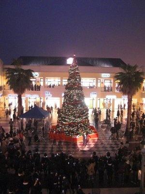 ジャズドリーム長島がクリスマスムードに包まれた!
