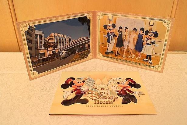 「スペシャルコンテンツ付き宿泊プラン」ではミッキーマウス、ミニーマウスとの記念撮影も楽しめる