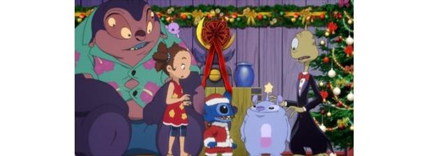 願い事をかなえるエイリアン・ウィッシーワッシーによって、楽しいクリスマスがモンスター・パニックに!