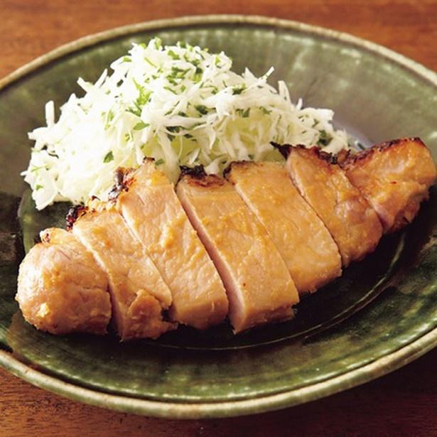 豚肉のみそ漬け焼き