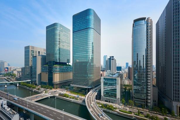 中之島フェスティバルタワー・ウエスト最高層階に、コンラッド大阪が誕生した