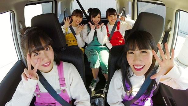 あ~りんことさ佐々木彩夏の運転でレッツドライブ!