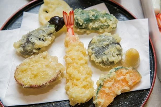 「天ぷら&レタス」(天ぷら2個とレタス1個2160円)