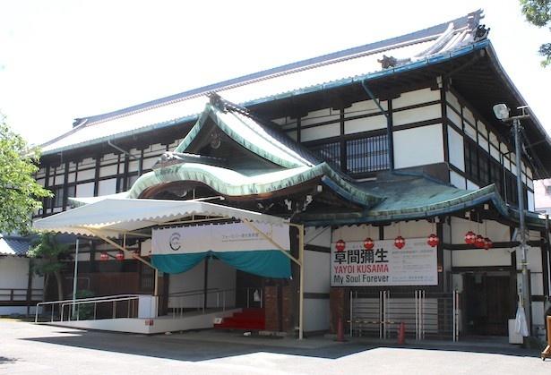 祇園甲部歌舞練習場敷地内の八坂倶楽部で2017年12月グランドオープン予定のフォーエバー現代美術館