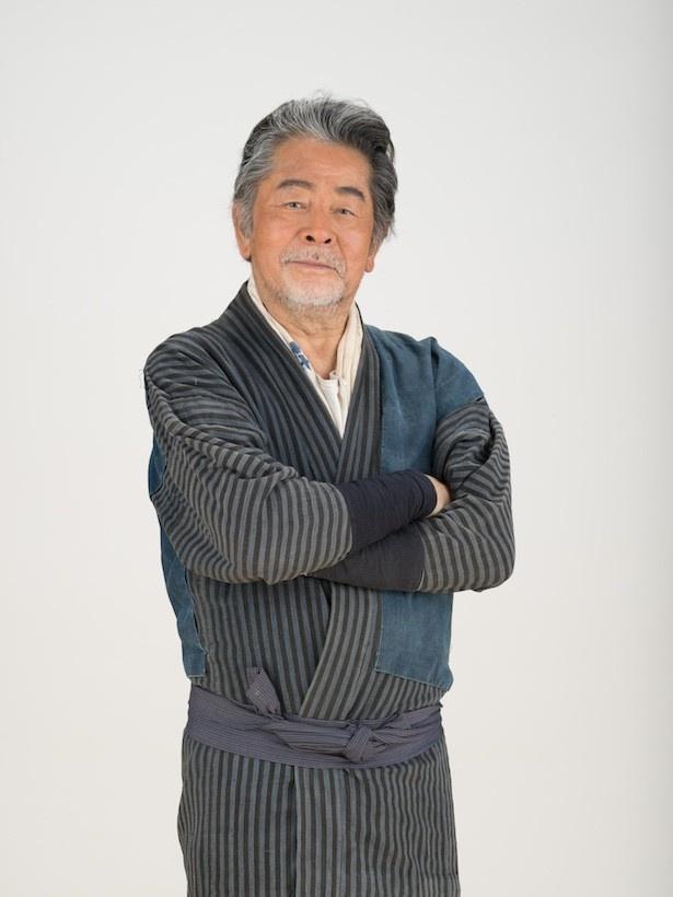 「ひよっこ」でみね子(有村架純)の祖父・茂を演じる古谷一行にインタビュー