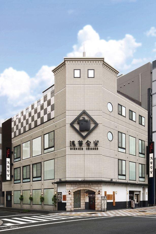 東京メトロ田原町駅からも徒歩5分なので迷わず行ける